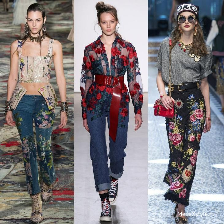Модные в 2018 году модели джинс